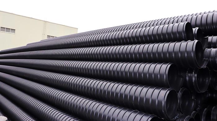 阳朔县金宝乡污水改造工程钢带增强螺旋波纹管采购案例