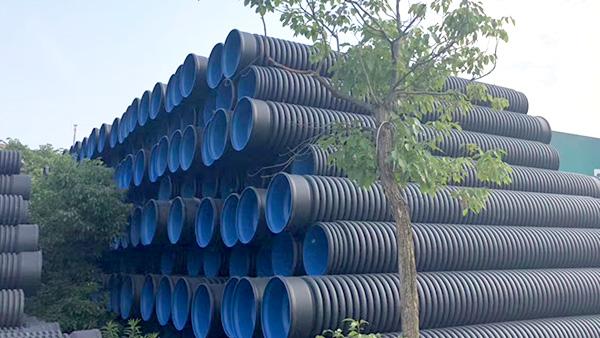 PVE双壁波纹管和HDPE钢带缠绕管区别之处