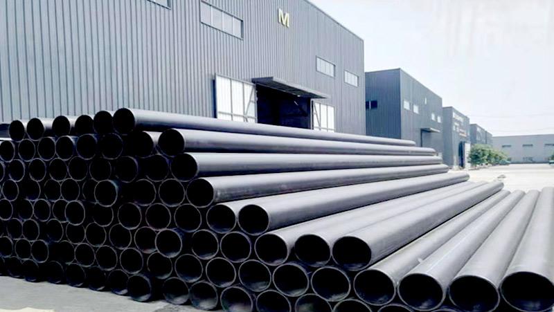 广西防城港保税物流中心钢丝骨架管案例