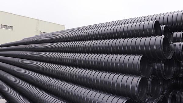 钢带増强聚乙烯(PE )螺旋波纹管